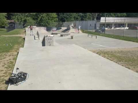 Milford skatepark tour