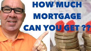 Mortgage - How Much Can I Borrow? Mortgage Calculator UK