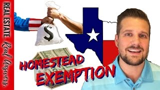 TEXAS HOMESTEAD EXEMPTION: What You Need to Know