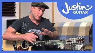 12 String Guitar: Tuning, Tips & Tricks on a Maton Messiah (Guitar Lesson TE-501)