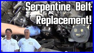 How to Replace Serpentine Belt Ford Explorer