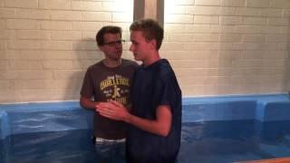 Baptism of Colton Tarrant