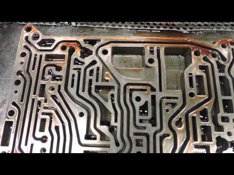 Фото к видео: 5HP18 Valve Body DIY Part 1