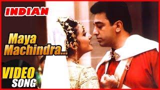 Maya Machindra Video Song | Indian Tamil Movie | Kamal Haasan | Manisha Koirala | AR Rahman