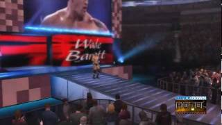 WWE '12 Wade Barrett Updated Entrance [Video]