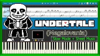 Piano Tutorial For Undertale Megalovania Free Video Search Site