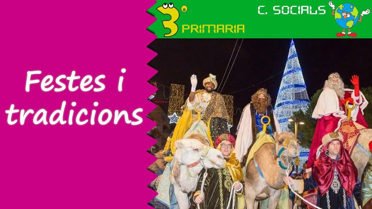 Ciències Socials. 3r Primària. Tema 1. Festes i tradicions