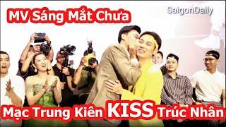 Trúc Nhân được Mạc Trung Kiên ôm hôn, Thu Minh bật khóc mừng MV Sáng Mắt Chưa quá xuất sắc