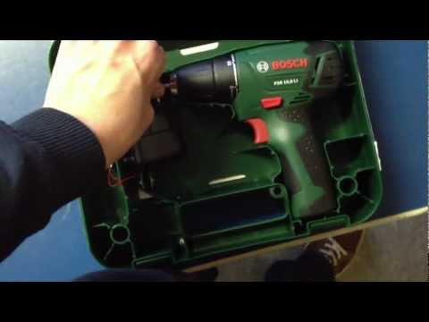 Conrad Enkauf / Bosch PSR 10,8 LI Akku-Bohrschrauber