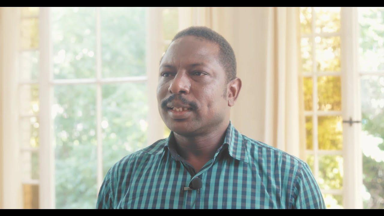Doktorand Ahmed Ibrahim zu guter Betreuung in der Promotion