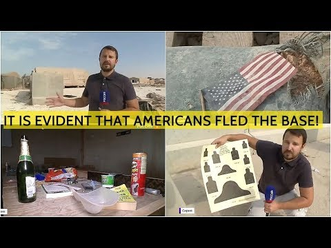 EXCLUSIVE! Russians Enter Abandoned American Base In Syria For The First Time!