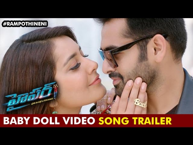 Ram Pothineni – Hyper Video Song – Baby Doll Full Video Song Promo