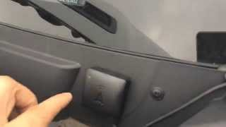Explanation on how to instal an ABAX4 unit in a Ford Transit 2013 onwards.