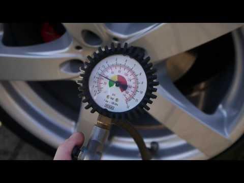 Reifendruck kontrollieren Reifen aufpumpen Anleitung Deutsch