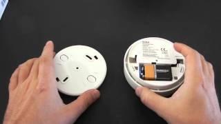 Gira Basic VdS Rauchmelder Test