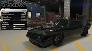 GTA 5 - Arena War DLC Vehicle Customization - Vapid Apocalypse Imperator (Mad Max Interceptor)
