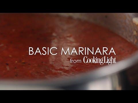 How to Make Basic Marinara