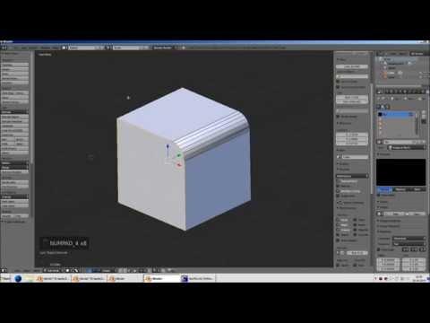 Blender für Zusianer (10): Modifier - Decimate, Triangulate, Bevel, Edge Split