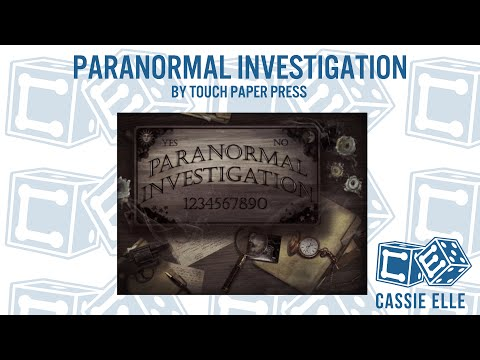 Cassie Elle talks Paranormal Investigation by Touch Paper Press