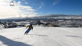 A morning tip & turn down Towers, Mt Perisher