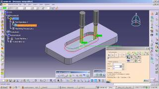 CATIA V5 – How to Generate G-codes in NC mode
