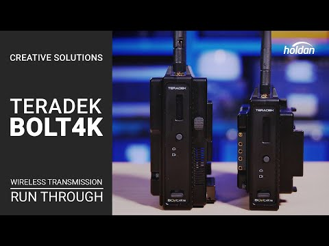 Teradek Bolt 4K Overview