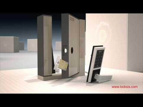 Video introduction Locksis digital door lock handle