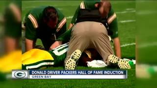 Donald Driver inducted into Packers