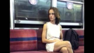 Rod Stewart- Subway Beauty in a Downtown Train