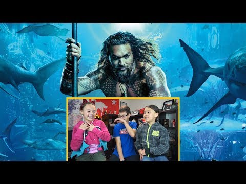 Aquaman Movie Review by Kids!