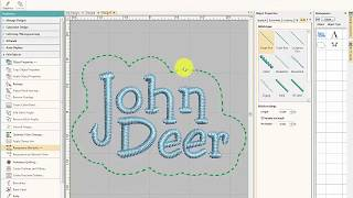 Hatch Embroidery Digitizing In Depth - Most Popular Videos