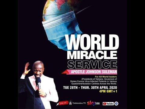 APOSTLE JOHNSON SULEMAN – World Miracle Service