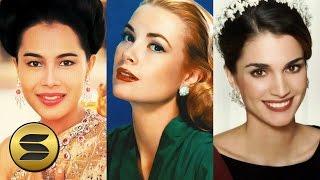 """► 12 พระราชินี-เจ้าหญิงที่ """"สวยที่สุด"""" ในโลก! 👸 Most Beautiful Queens & Princesses of All Time"""