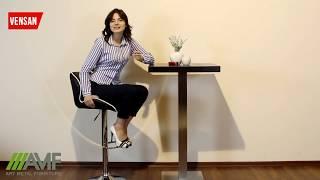 Барный стул Vensan черный от компании ТМ БАРО: интернет-магазин мебели - видео