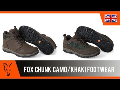 Fox Chunk Khaki Shoes Cipő videó