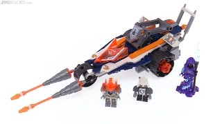 LEGO NEXO Knights Lance's Twin Jouster review ⚔ 70348