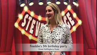 Freddie's 5th birthday party