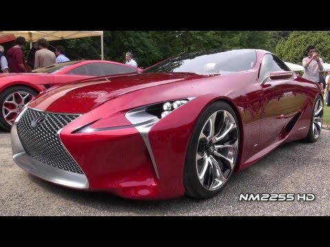 Lexus LF-LC Luxury Sports Coupe Concept Car