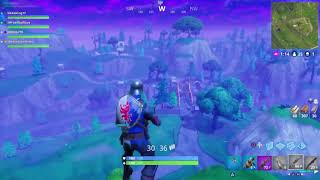 Fortnite rocket ride across the map