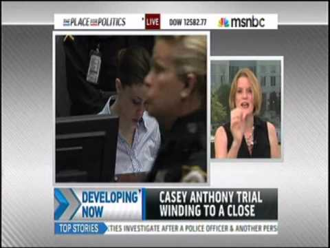Meg Strickler on MSNBC July 4, 2011 at 9:45 discussing Casey Anthony trial