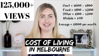 COST OF LIVING In Melbourne   Monthly Expenses Budget
