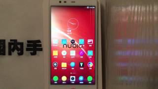國內手機代購 Zte Nubia X6  影片介紹