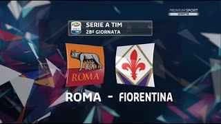 Roma VS Fiorentina 4-1 - Telecronaca Zampa