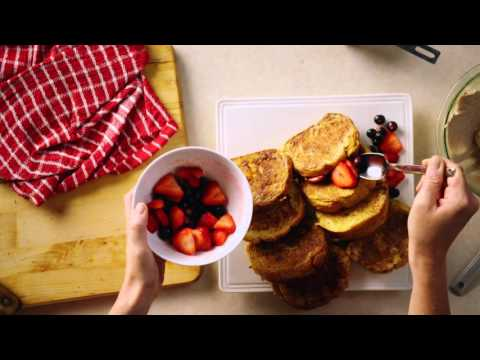 Christmas Brunch: Stuffed French Toast Recipe – Pure Brings Us Home (McCormick Commercial)
