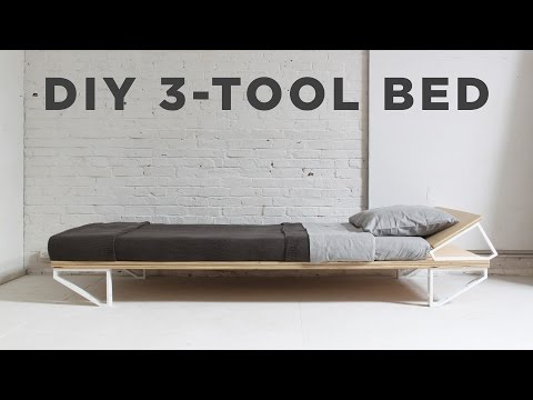 DIY Bed | 3-Tool Series