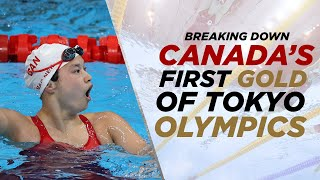 Maggie Mac Neil brings home Canada's first gold medal at Tokyo Olympics