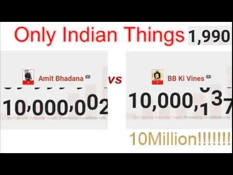 Finale BB ki Vines VS Amit Bhadana | 10 million subscibers fight