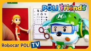 💡NEW💡 I want to wear glasses! | POLI Friends | Robocar POLI