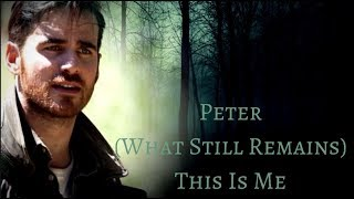 Colin ODonoghue Ll Peter Ll What Still Remains - This Is Me