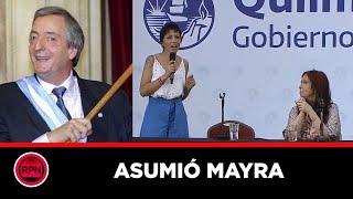 Asumio la intendenta Mayra Mendoza